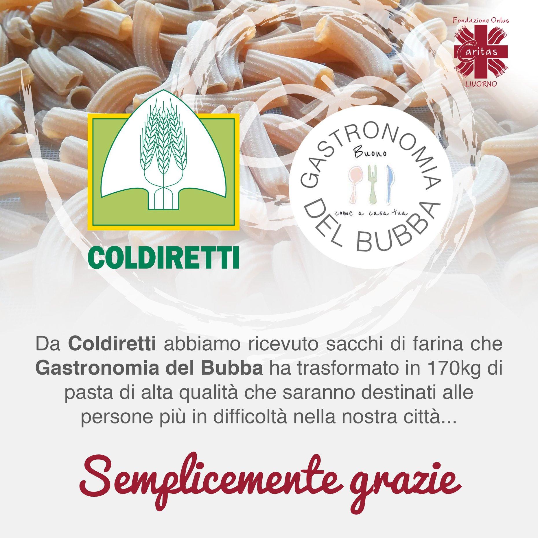 Grazie di cuore a Coldiretti e Gastronomia del Bubba