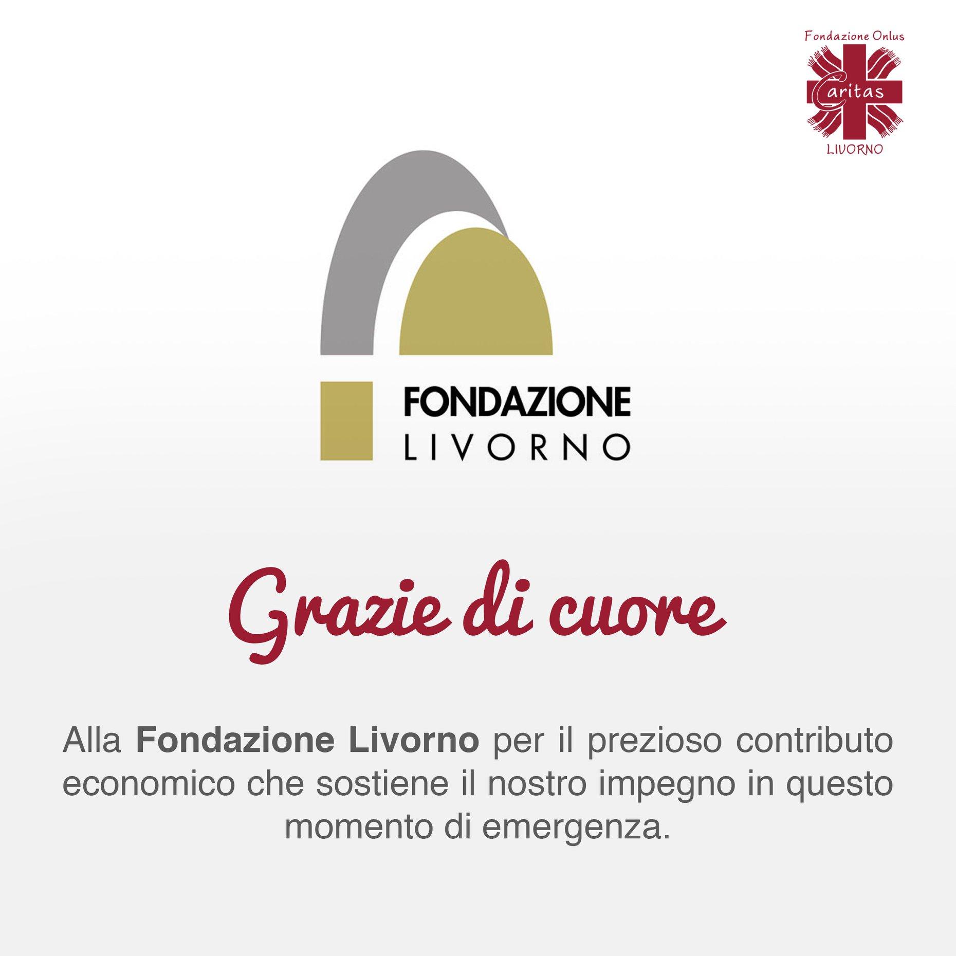 Grazie di cuore a Fondazione Livorno