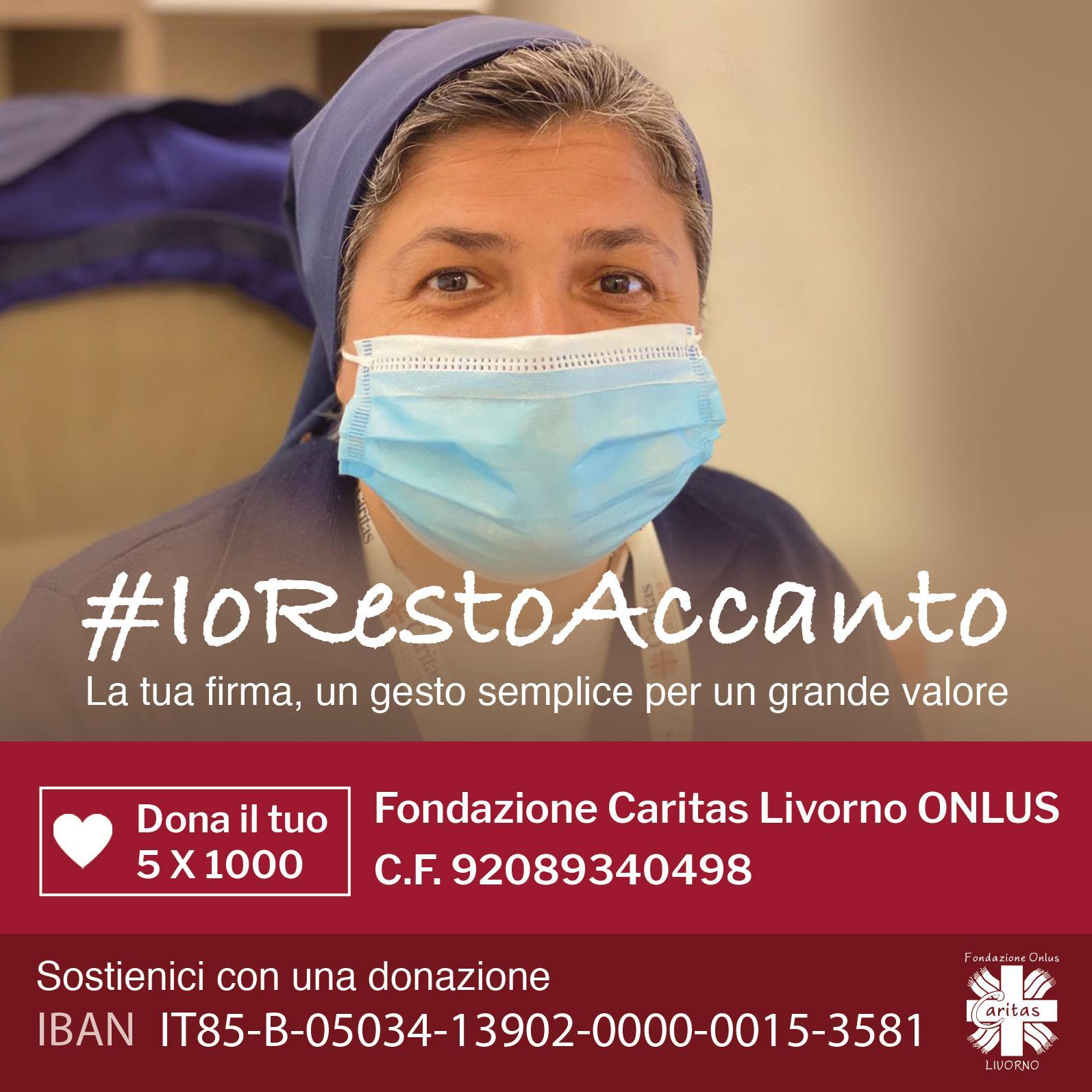 #IORESTOACCANTO – Dona il tuo 5×1000