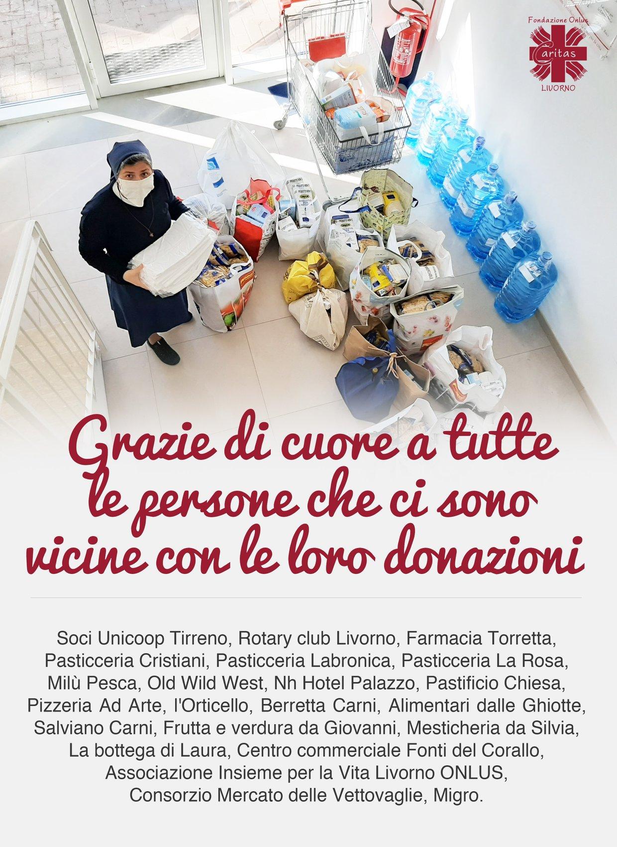 Grazie di cuore a tutte le persone che ci sono vicine con le loro donazioni