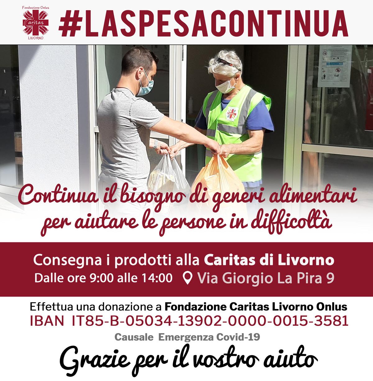 #LaSpesaContinua