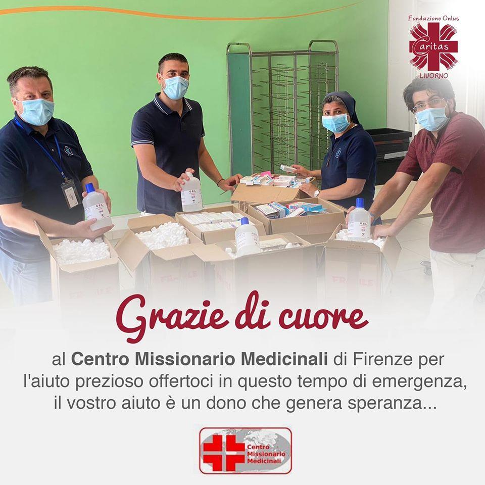 Grazie di cuore al Centro Missionario Medicinali di Firenze