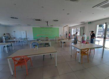 La mensa del  Villaggio della Carità prosegue la sua attività senza interruzioni