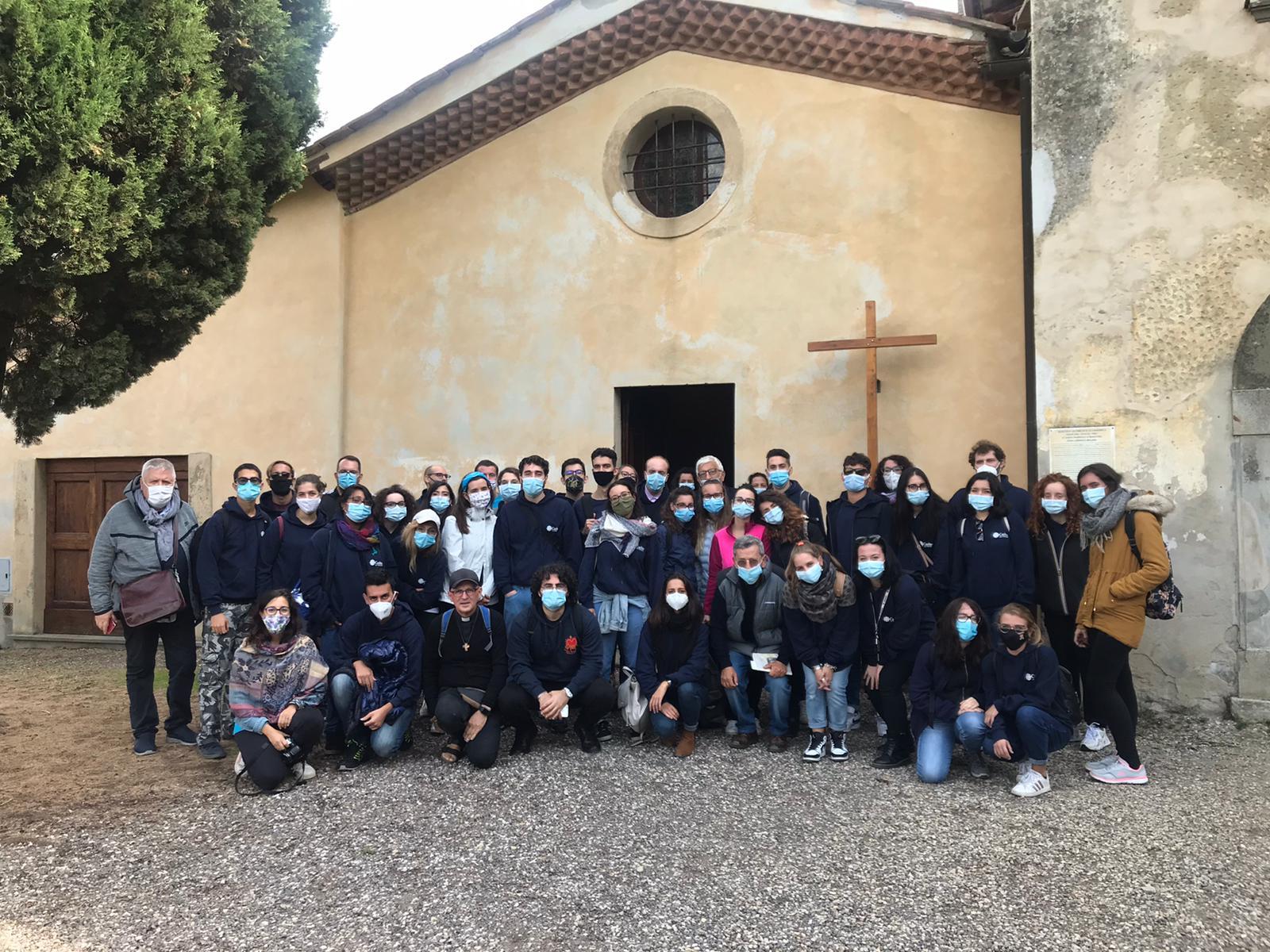 I ragazzi e le ragazze del Servizio Civile Regionale in visita a Barbiana