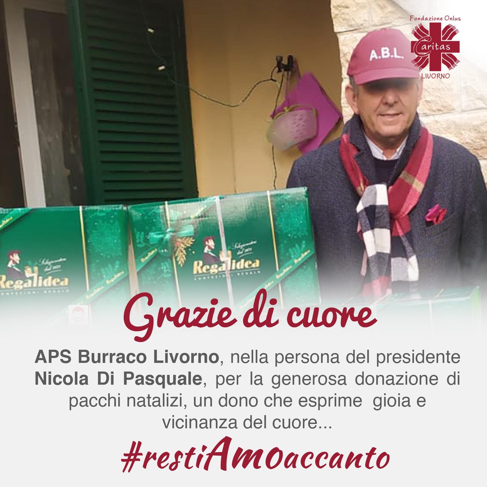 Grazie di cuore alla APS Burraco Livorno per la generosa donazione