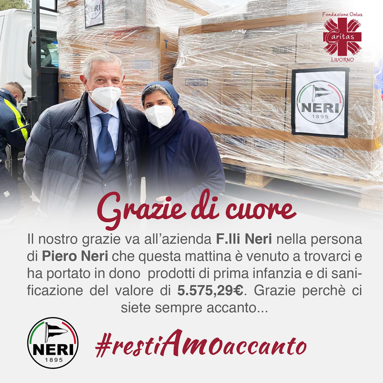 Il nostro grazie va all'azienda F.lli Neri nella persona di Piero Neri