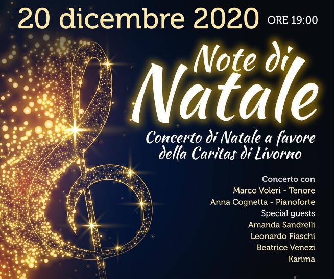 Domenica 20 dicembre alle ore 19:00 concerto Note di Natale